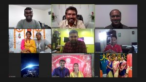 Virtual Deepavali 2020 Event Behind the scenes( Team)